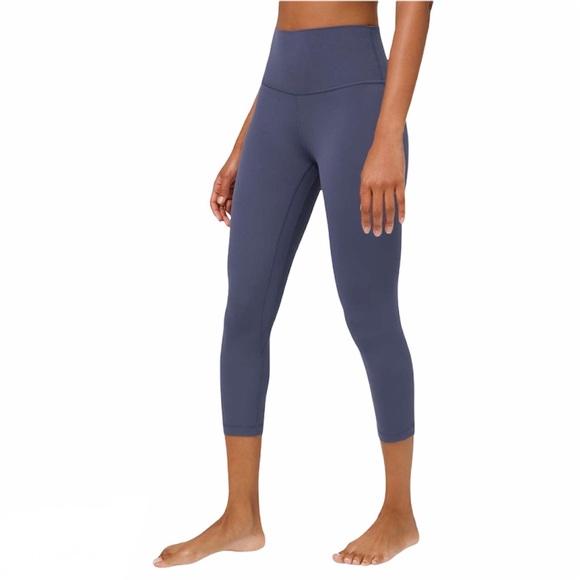 Lululemon Align Leggings Blue Nulu Sz 6